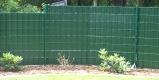 Sichtschutz für Gittermattenzaun